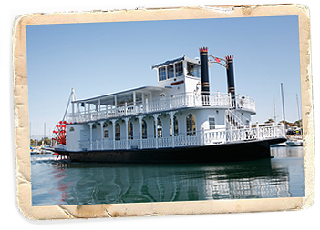 the Scarlett Belle Riverboat